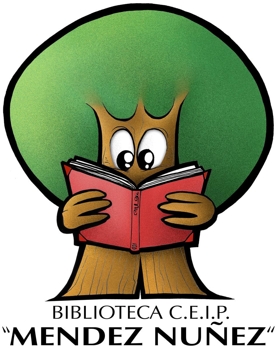 Logo Biblioteca Colegio Mendez Nuñez