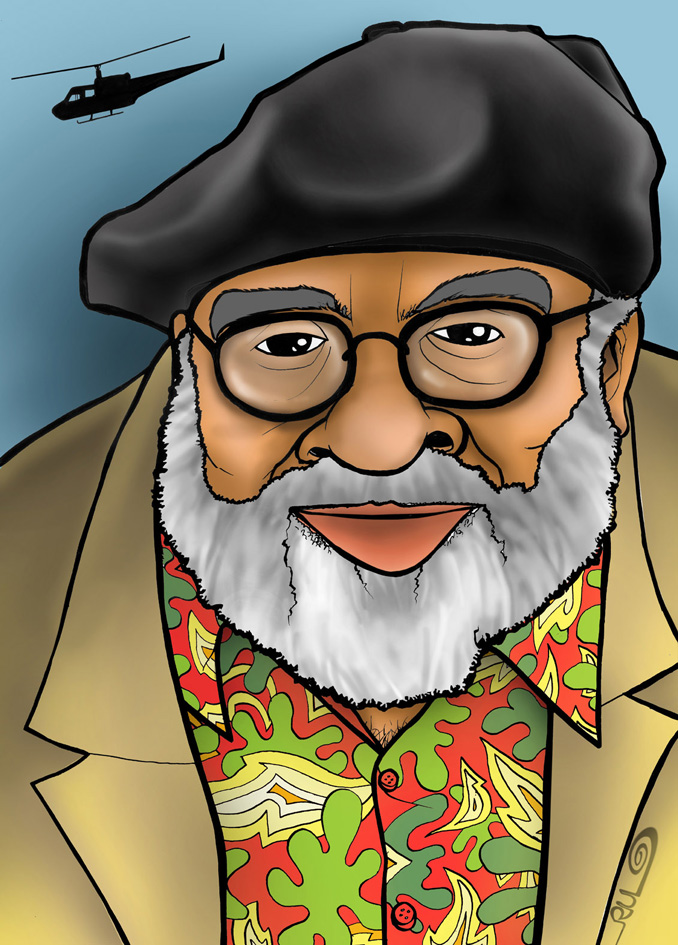 Caricatura de Francis Ford Coppola