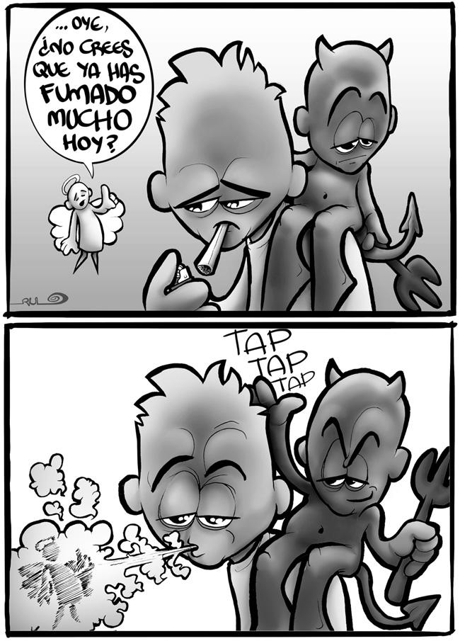 Viñeta FUMAS MUCHO