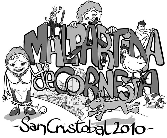 Ilustración camisetas FIESTAS MALPARTIDA 2010