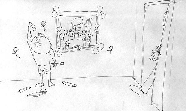 Boceto 4 Ilustración CABREO