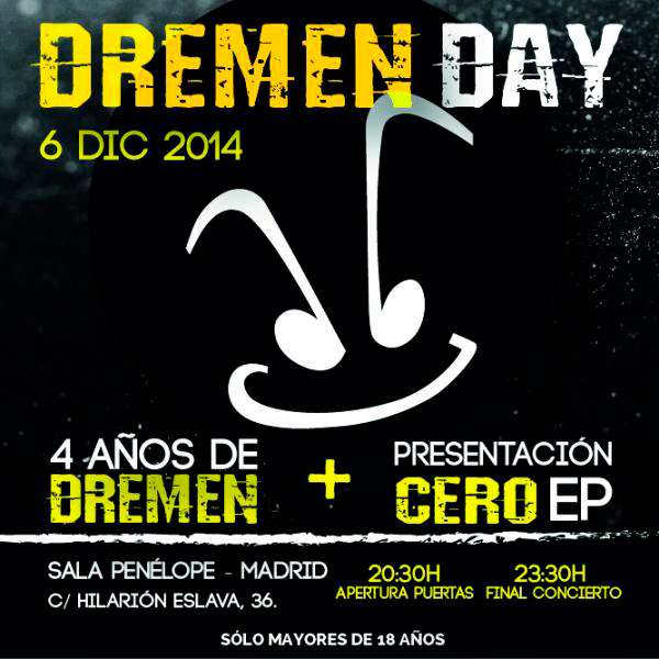 Cartel careta DREMEN´S DAY