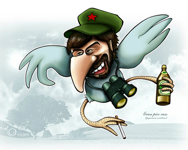 Caricatura RUSO