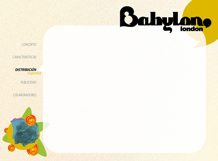 Diseño pagina Presentacion BABYLON MAGAZINE pag 4