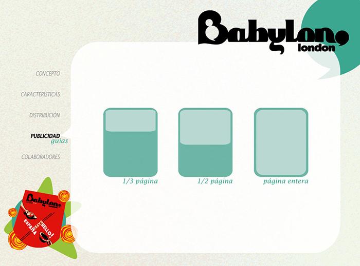 Diseño pagina Presentacion BABYLON MAGAZINE pag 5