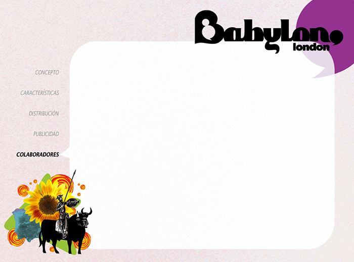Diseño pagina Presentacion BABYLON MAGAZINE pag 6
