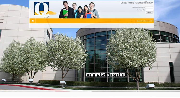 Diseño y creacion web QALAMO FORMACION campus virtual