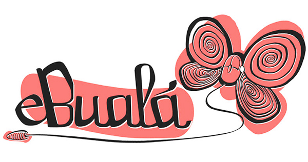 Boceto logo EBUALA 1