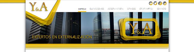 Diseño web Home 2 YUSTE Y ASOCIADOS
