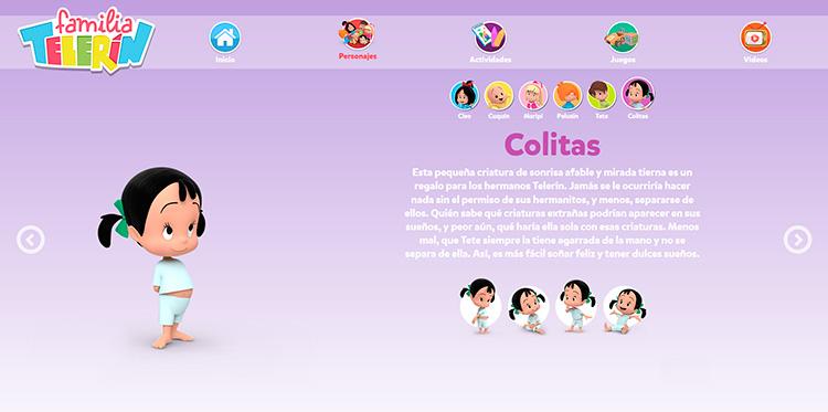 Adaptaciones responsive Web Personajes 1 FAMILIA TELERIN 1280