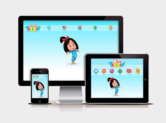 Adaptaciones responsive Web FAMILIA TELERIN