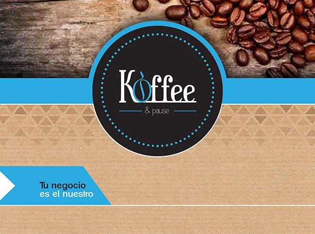 Diseño folletos PRESENTACION KOFFEE 1