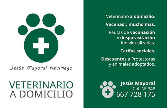 Diseño de Tarjeta de presentación VETERINARIO JESUS