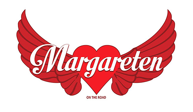 Diseño logotipo MARGARETEN ON THE ROAD