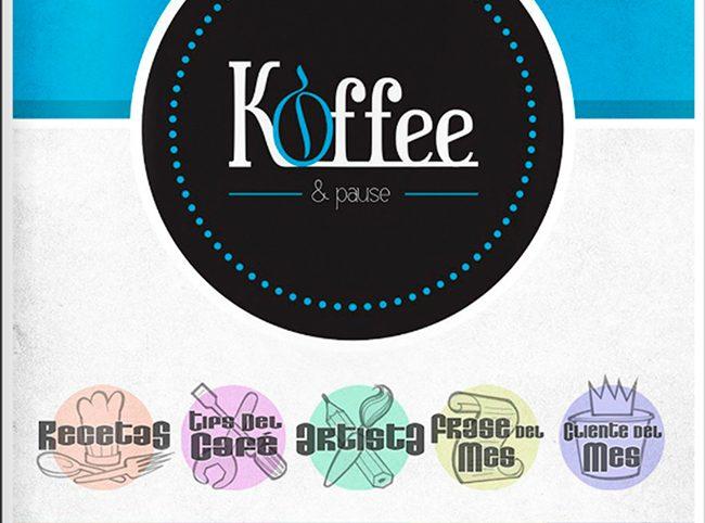 Diseño y maquetación REVISTA KOFFEE n1 pag1