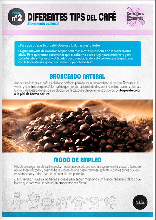 Diseño y maquetación REVISTA KOFFEE n1 pag3