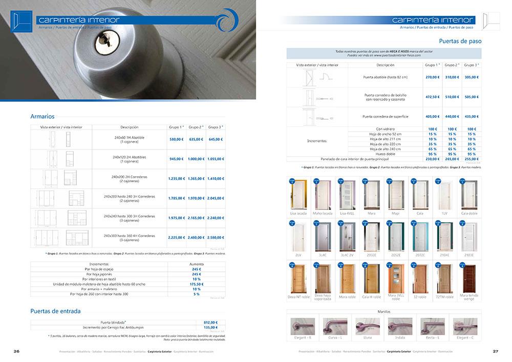 Diseño y maquetación CATALOGO PRODUCTOS Y SERVICIOS CORA ARQUITECTURA 2017 pliego 14