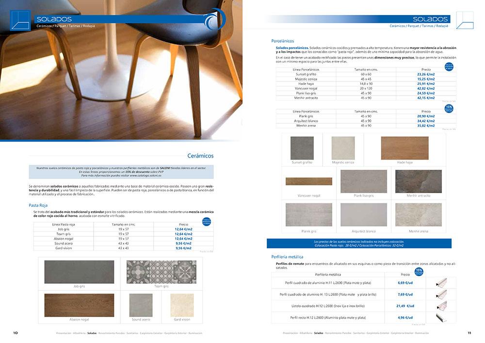 Diseño y maquetación CATALOGO PRODUCTOS Y SERVICIOS CORA ARQUITECTURA 2017 pliego 6