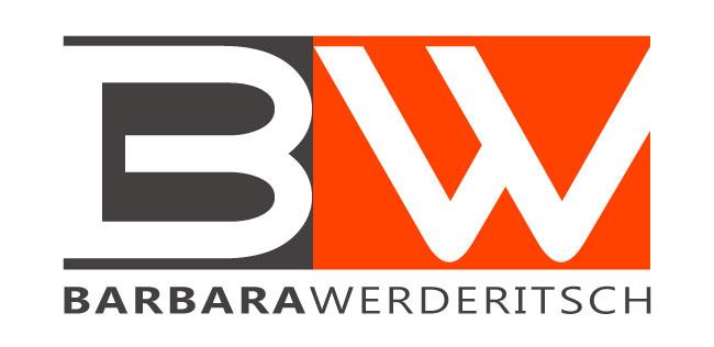 Diseño de logo marca personal BARBARA WERDERITSCH