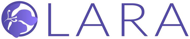 Diseño de logo horizontal LARA ESTETICA