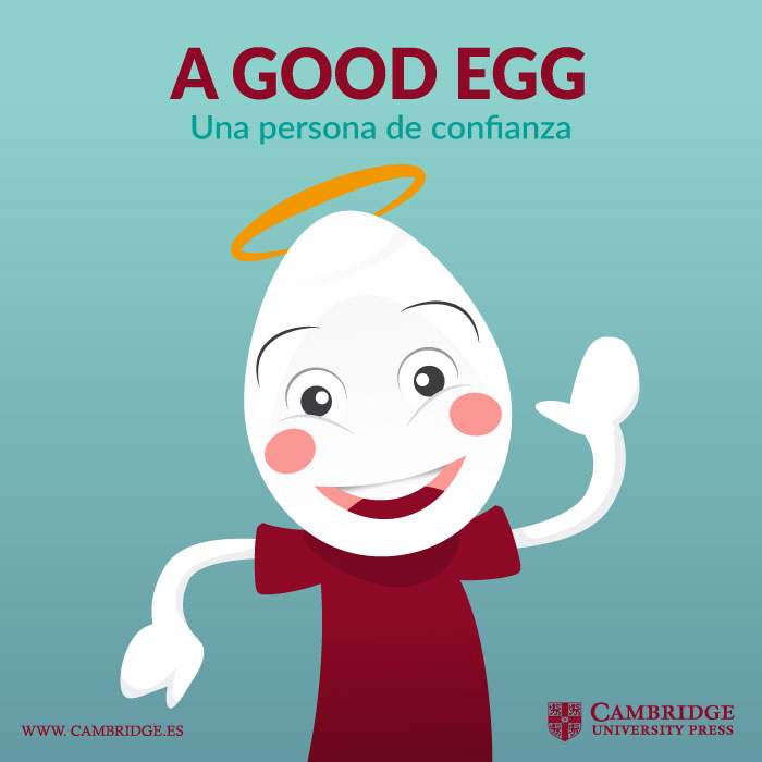 Visual redes sociales A GOOD EGG Cambridge University Press