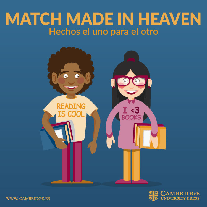 Visual redes sociales MATCH MADE IN HEAVEN Cambridge University Press