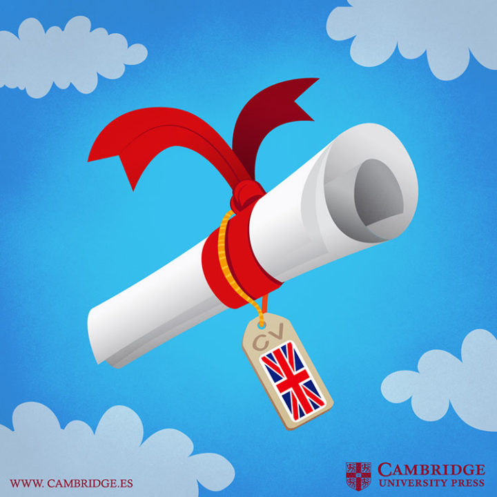 Ilustración blog CURRICULUM VITAE Cambridge University Press