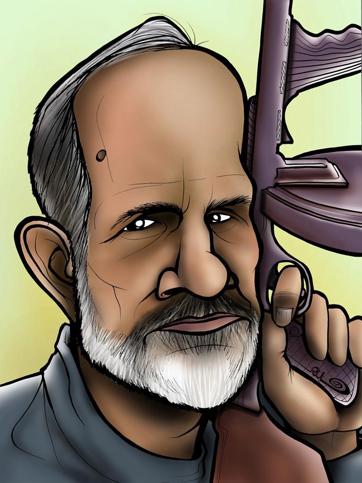Caricatura de Brian de Palma