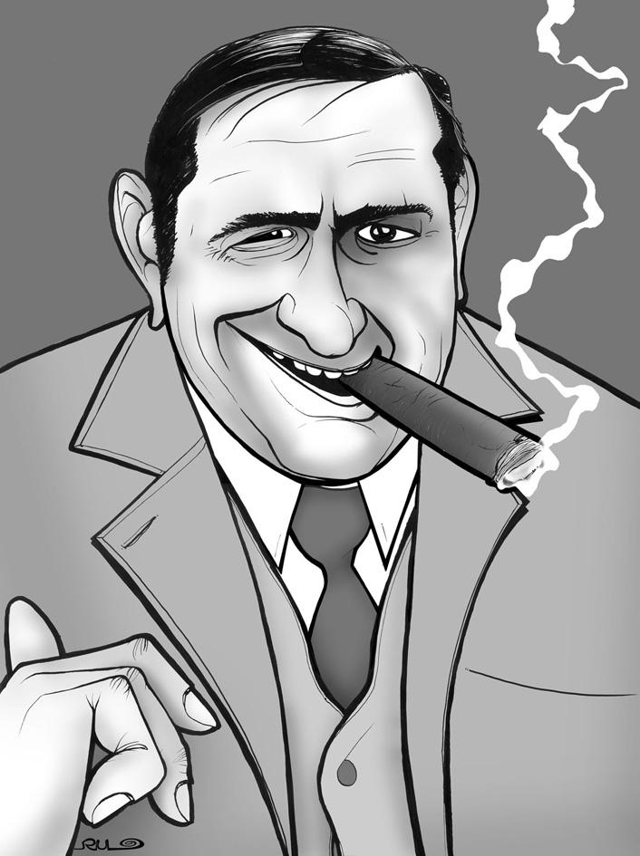 Caricatura de Ernst Lubitsch