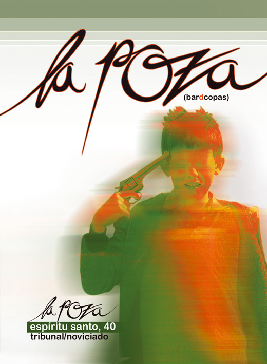 Flyer LA POZA front