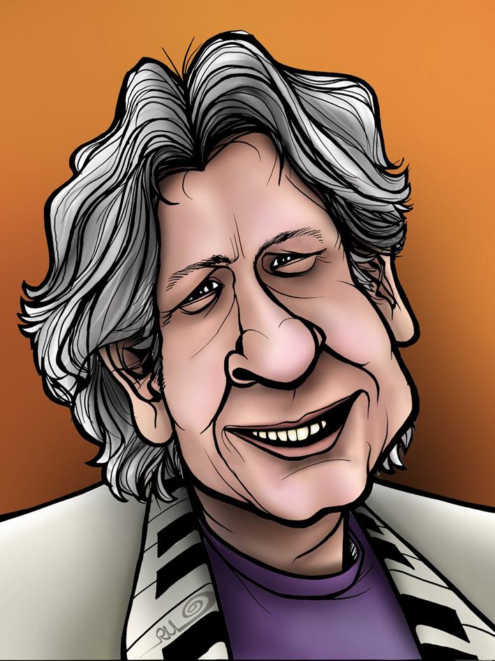 Caricatura de Roman Polansky