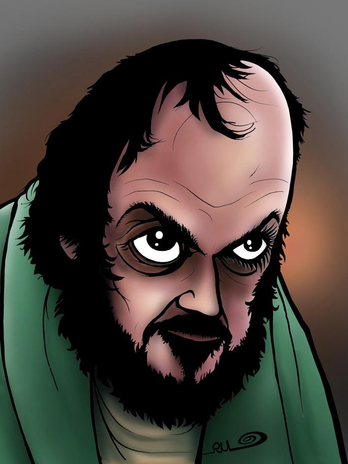 Caricatura de Stanley Kubrick
