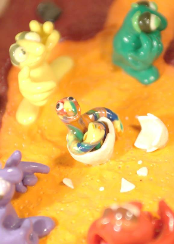 plastilina nacimiento colorin 2
