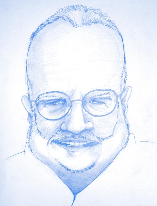 Caricatura Michael Jacobs