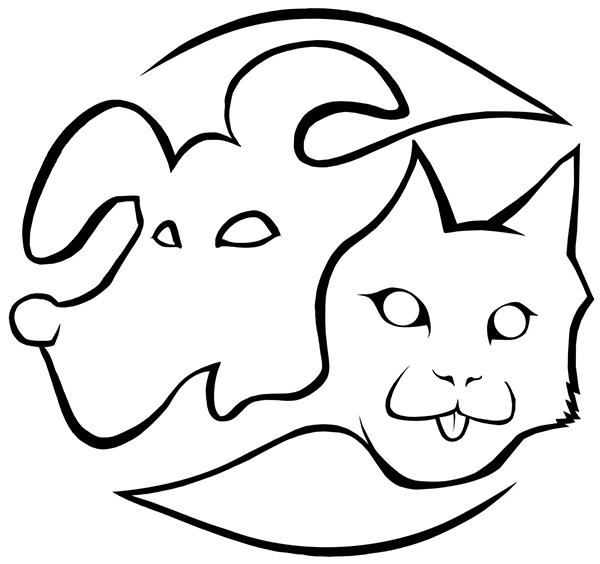Dibujo Logo CLINICA VETERINARIA CASTALLA