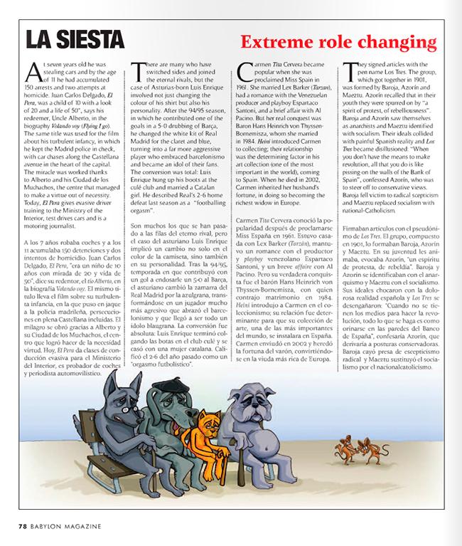 Maqueta final GRANDES CAMBIOS (Babylon Magazine nº 9)