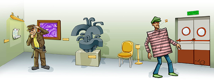 Ilustración EL GRAN ROBO (Babylon Magazine nº 13)