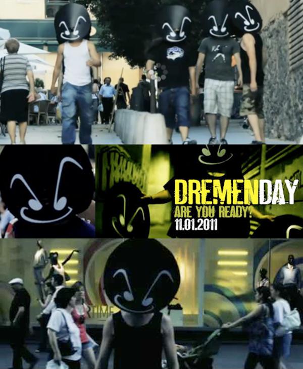 Imagenes videoclip DREMEN DAY