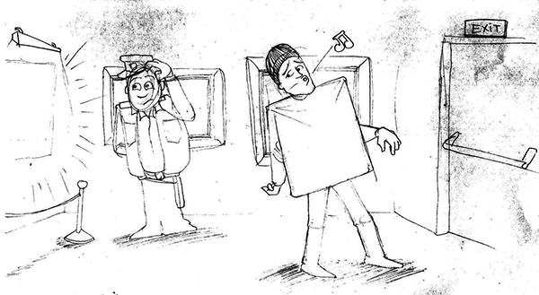 Boceto 1 Ilustración EL GRAN ROBO