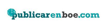 Diseño logo PUBLICAR EN BOE