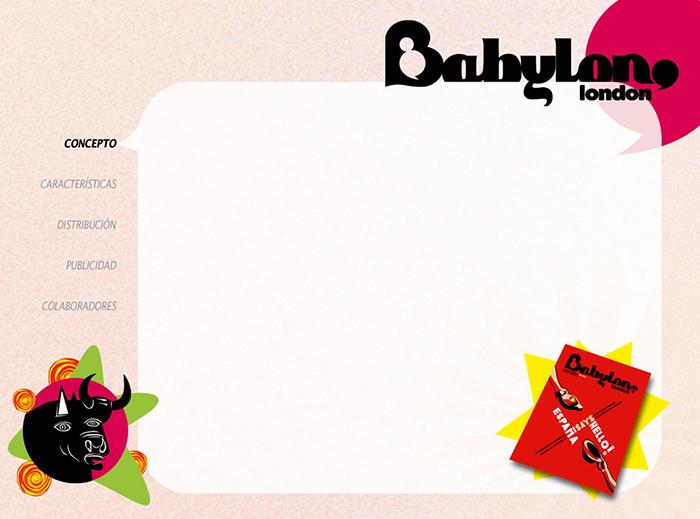 Diseño pagina Presentacion BABYLON MAGAZINE pag 2