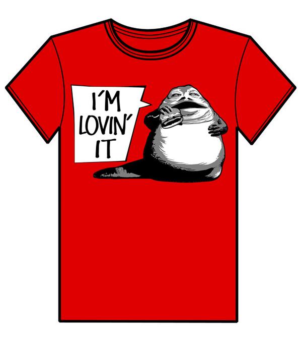 Diseño camiseta IM LOVIN IT