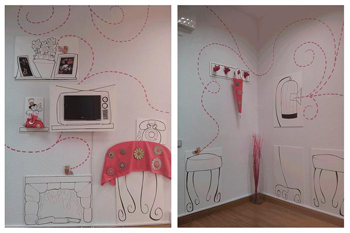 Ilustraciones y decoración OFICINA EBUALA 2