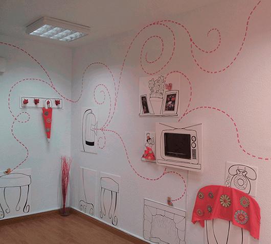 Ilustraciones y decoración OFICINA EBUALA 4
