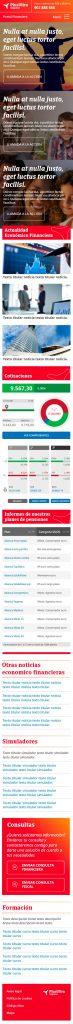 Diseño web Responsive Home SEGUROS PLUS ULTRA 320