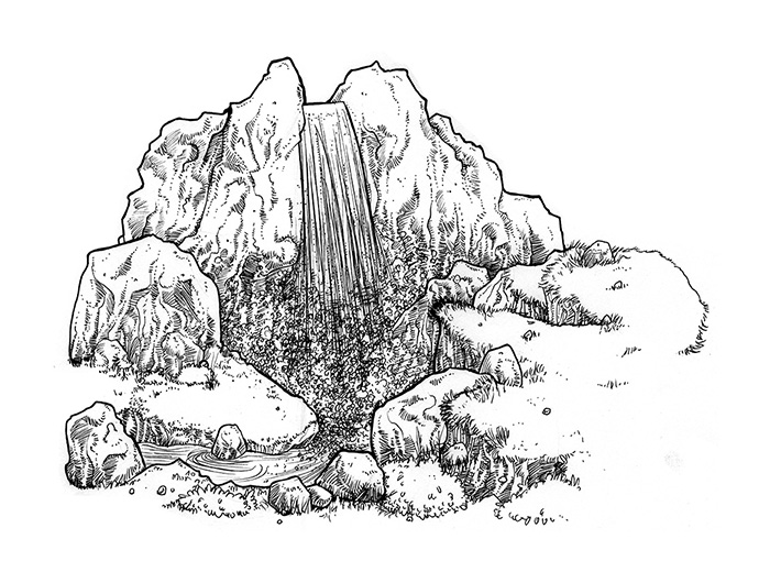 """Imagenes De Edificios En Caricatura: Ilustraciones """"Edificios En Ruinas"""""""