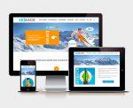 Diseño y creación de web SKIBACK