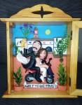 Retrato en plastilina MARIOLA Y JAVI DE BODA 1