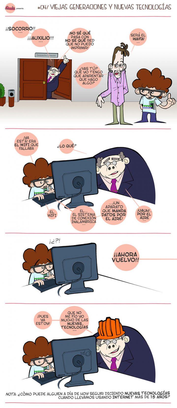 Comic CAFEPASTAS Y OTRAS RUTINAS DE BECARIO n 4 VIEJAS GENERACIONES