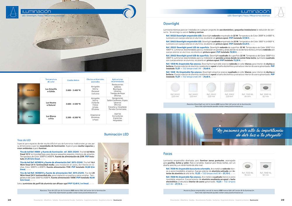 Diseño y maquetación CATALOGO PRODUCTOS Y SERVICIOS CORA ARQUITECTURA 2017 pliego 15